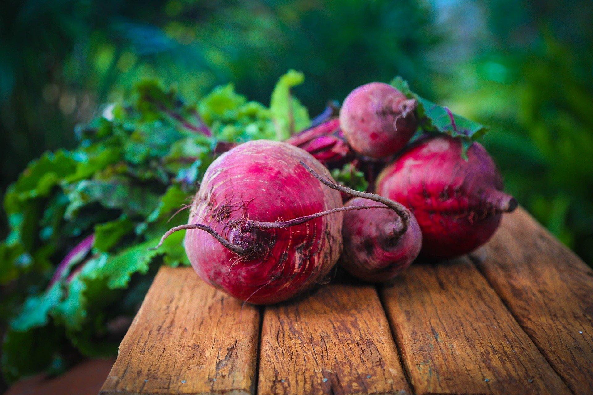 Liste over matvarer uten histaminer - bilde av rødbeter